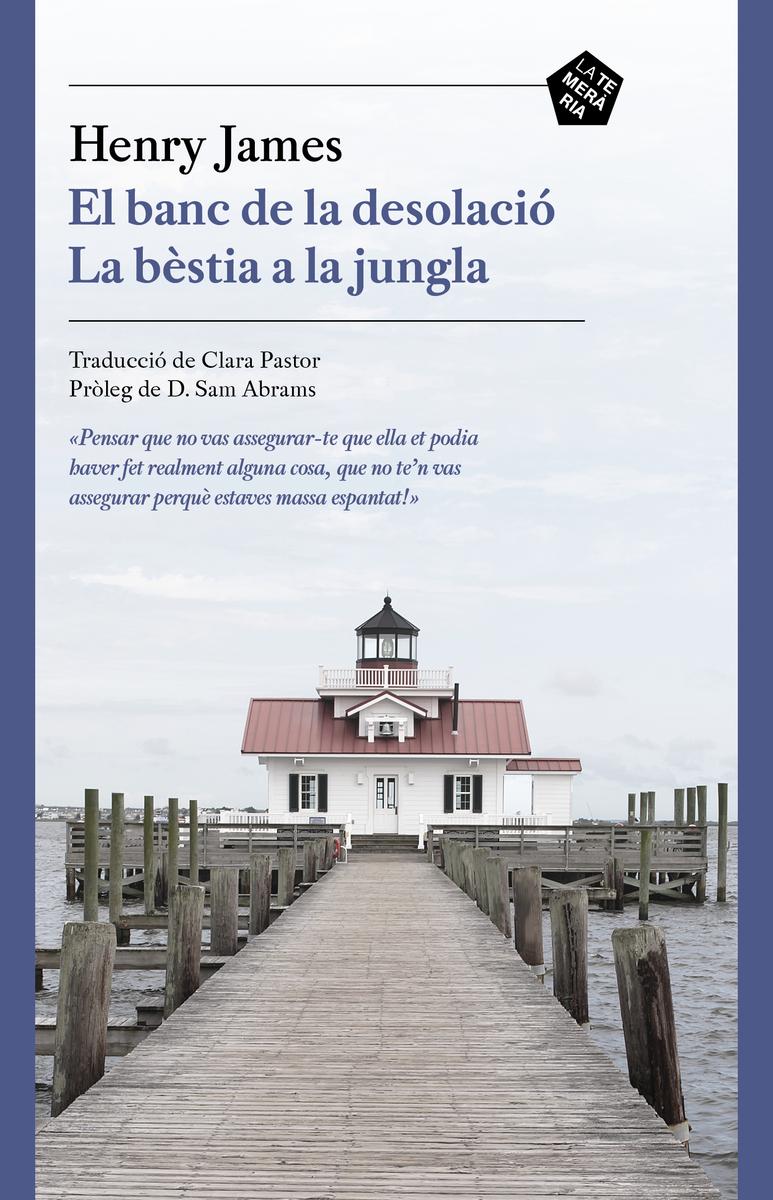 El banc de la desolació / La bèstia a la jungla: portada