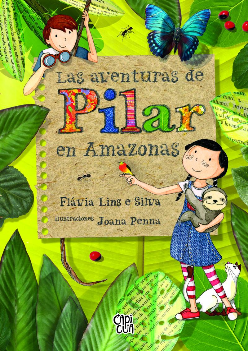 Las aventuras de Pilar en Amazonas: portada
