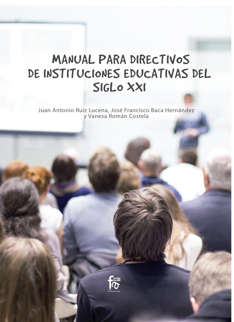 MANUAL PARA DIRECTIVOS DE INSTITUCIONES EDUCATIVAS: portada