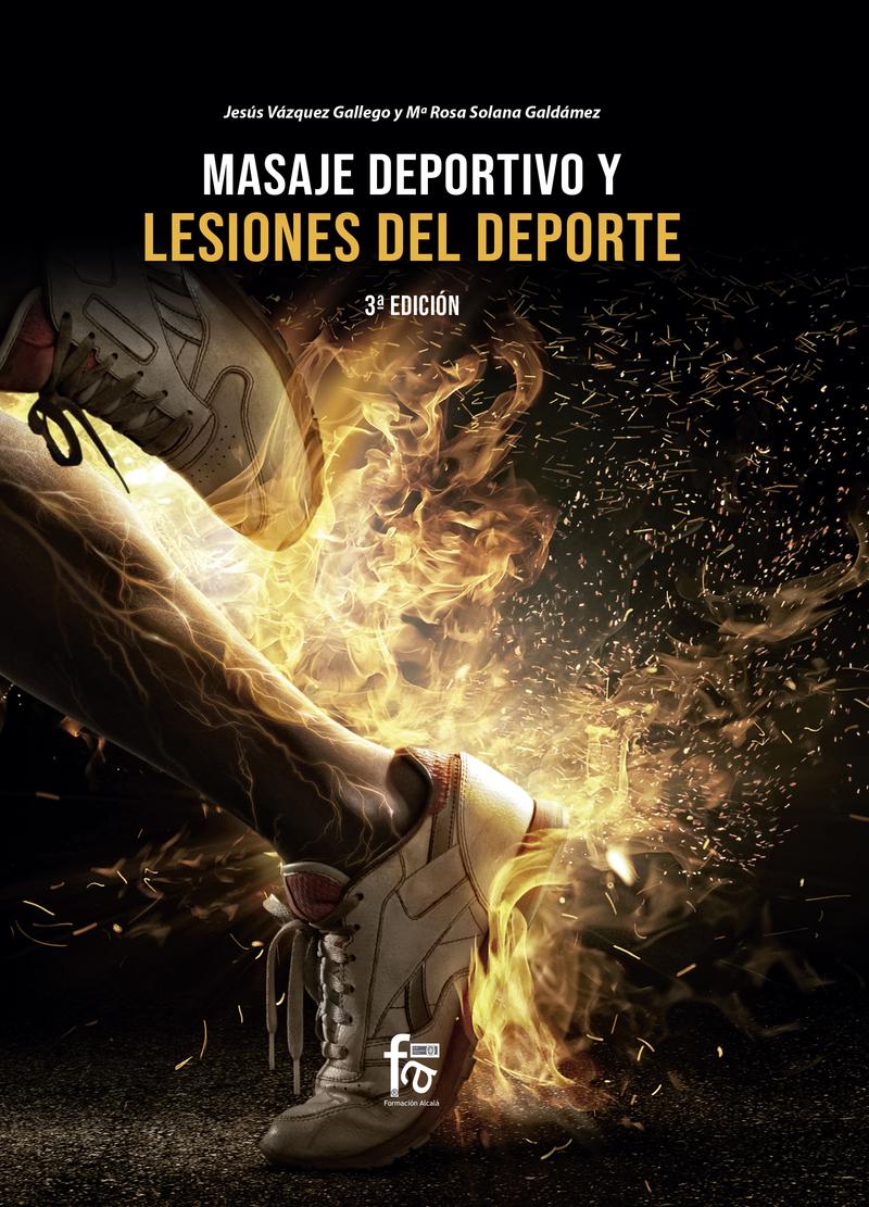MASAJE DEPORTIVO Y LESIONES DEL DEPORTE 3 ªED.: portada