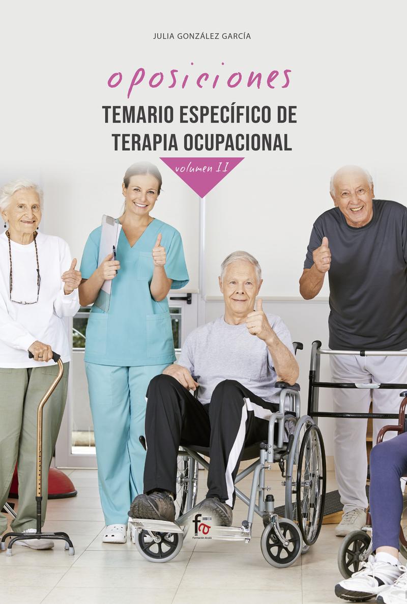 TEMARIO ESPECÍFICO DE TERAPIA OCUPACIONAL-VOLUMEN II: portada