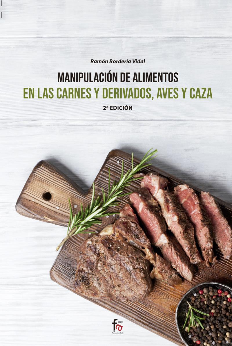 MANIPULACIÓN DE ALIMENTOS EN LAS CARNES Y DERIVADOS,: portada
