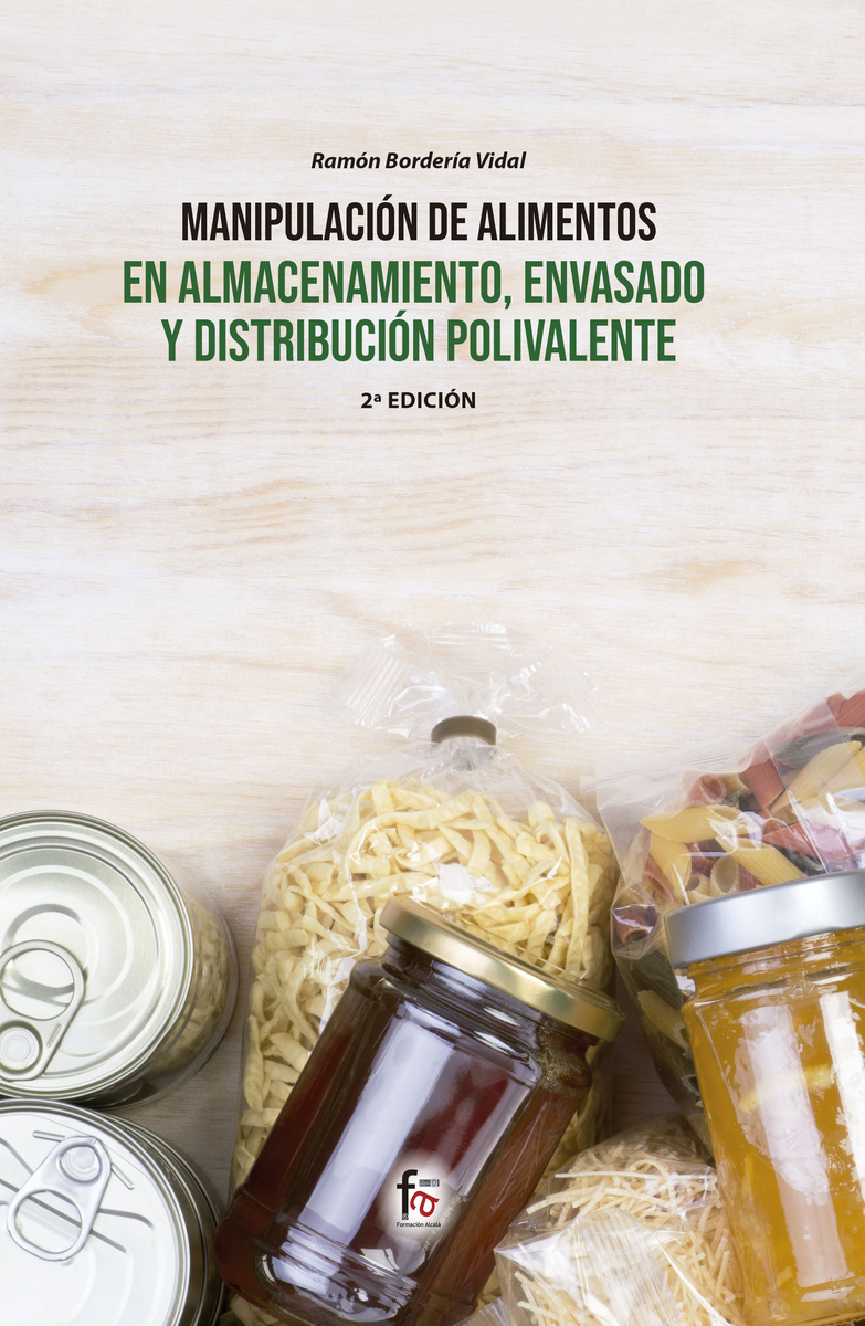 MANIPULACIÓN DE ALIMENTOS EN ALMACENAMIENTO, ENVASADO: portada