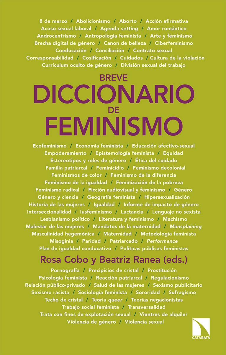 Breve diccionario de feminismo: portada