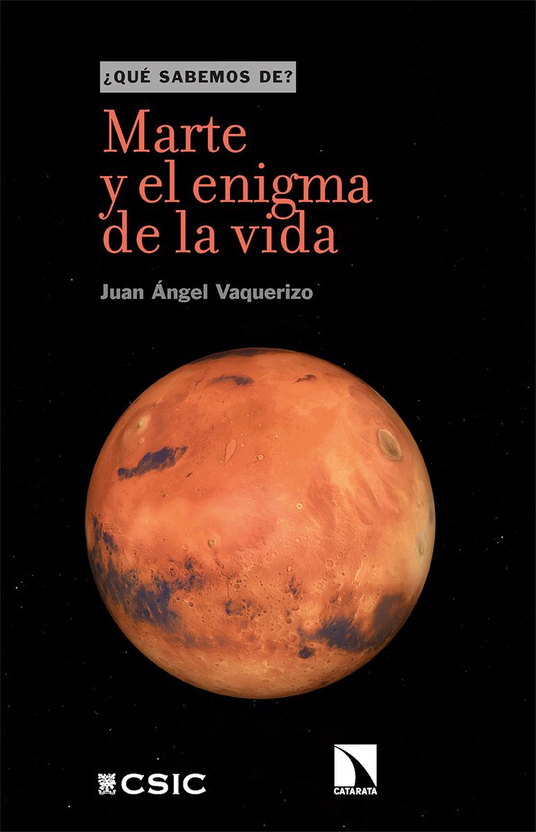 Marte y el enigma de la vida: portada