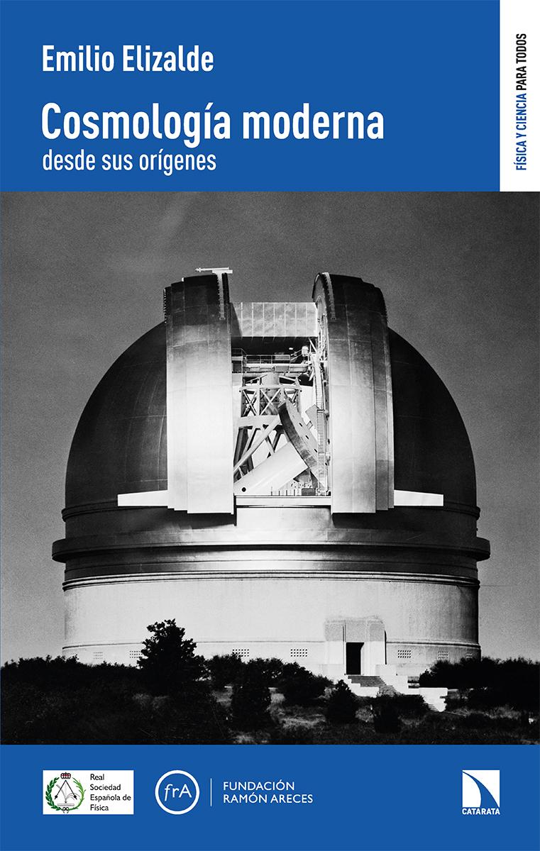 Cosmología moderna desde sus orígenes: portada