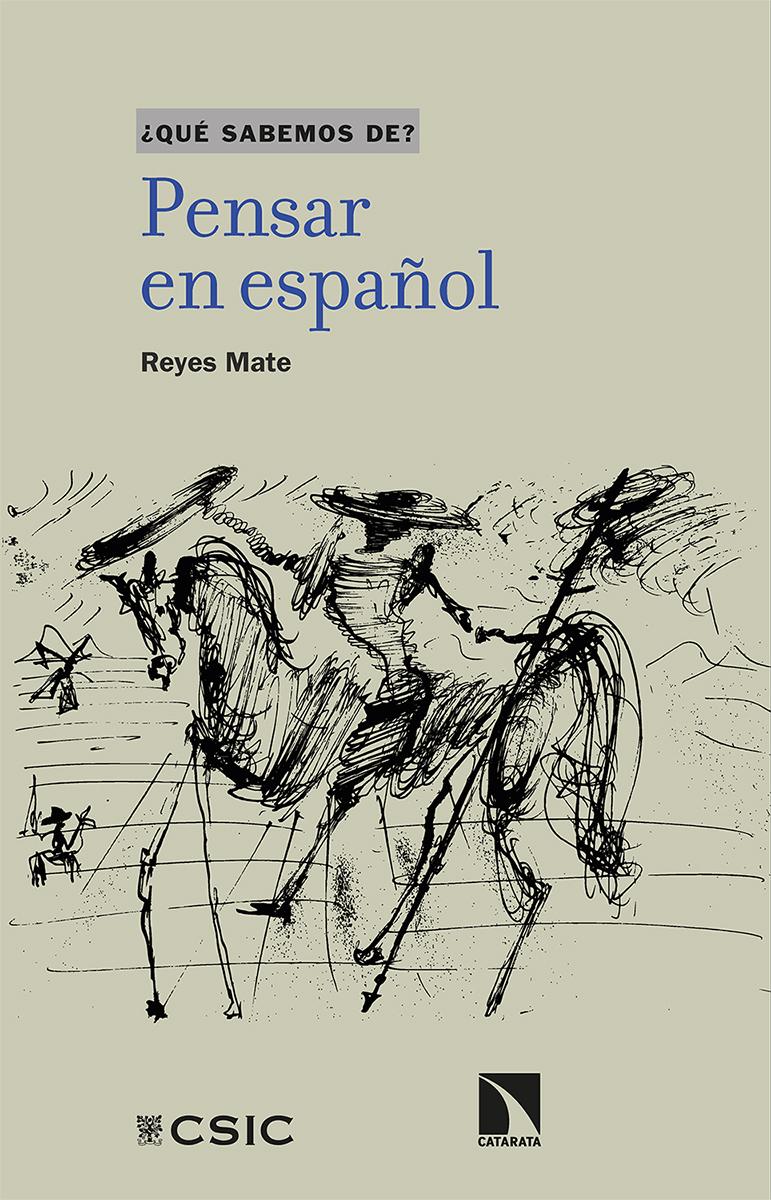 Pensar en español: portada