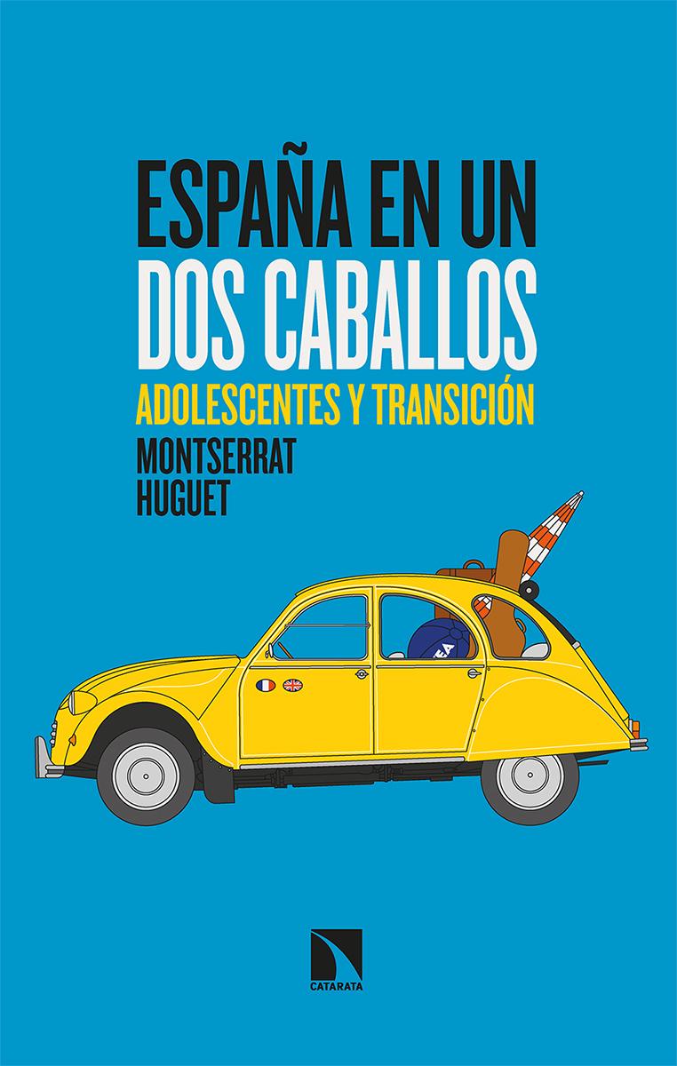 España en un dos caballos: portada
