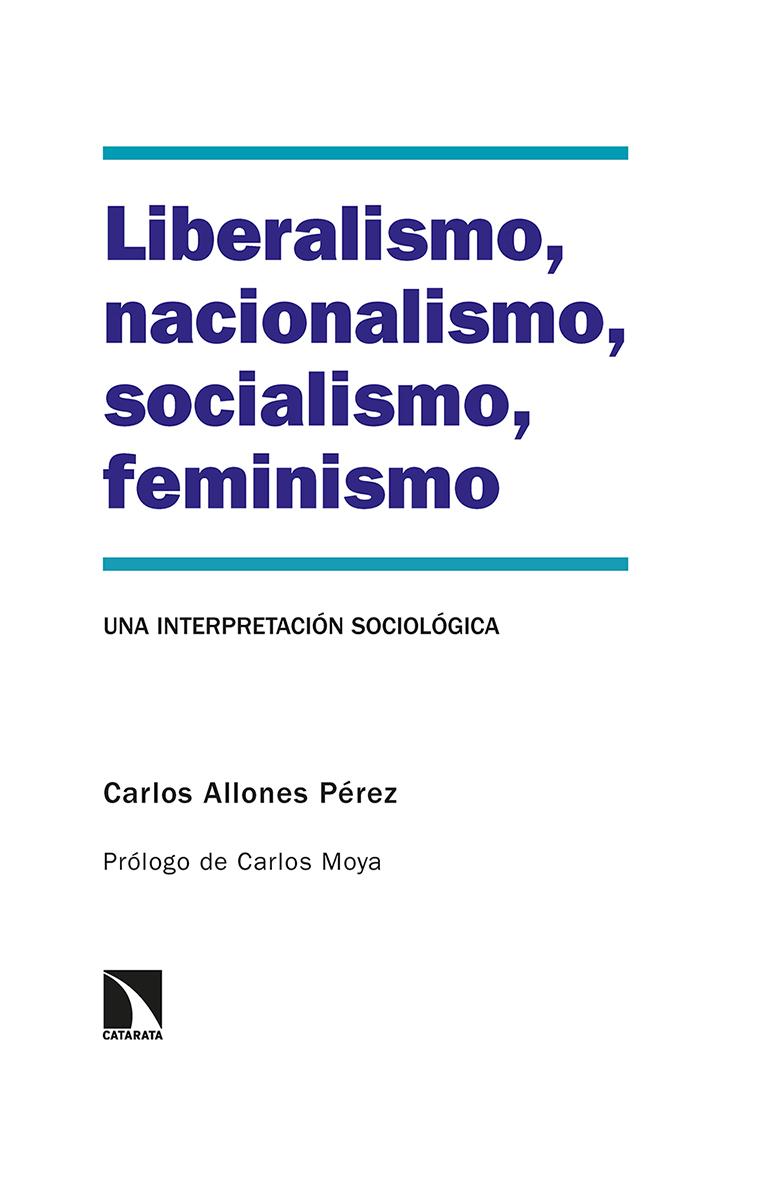 Liberalismo, nacionalismo, socialismo, feminismo: portada