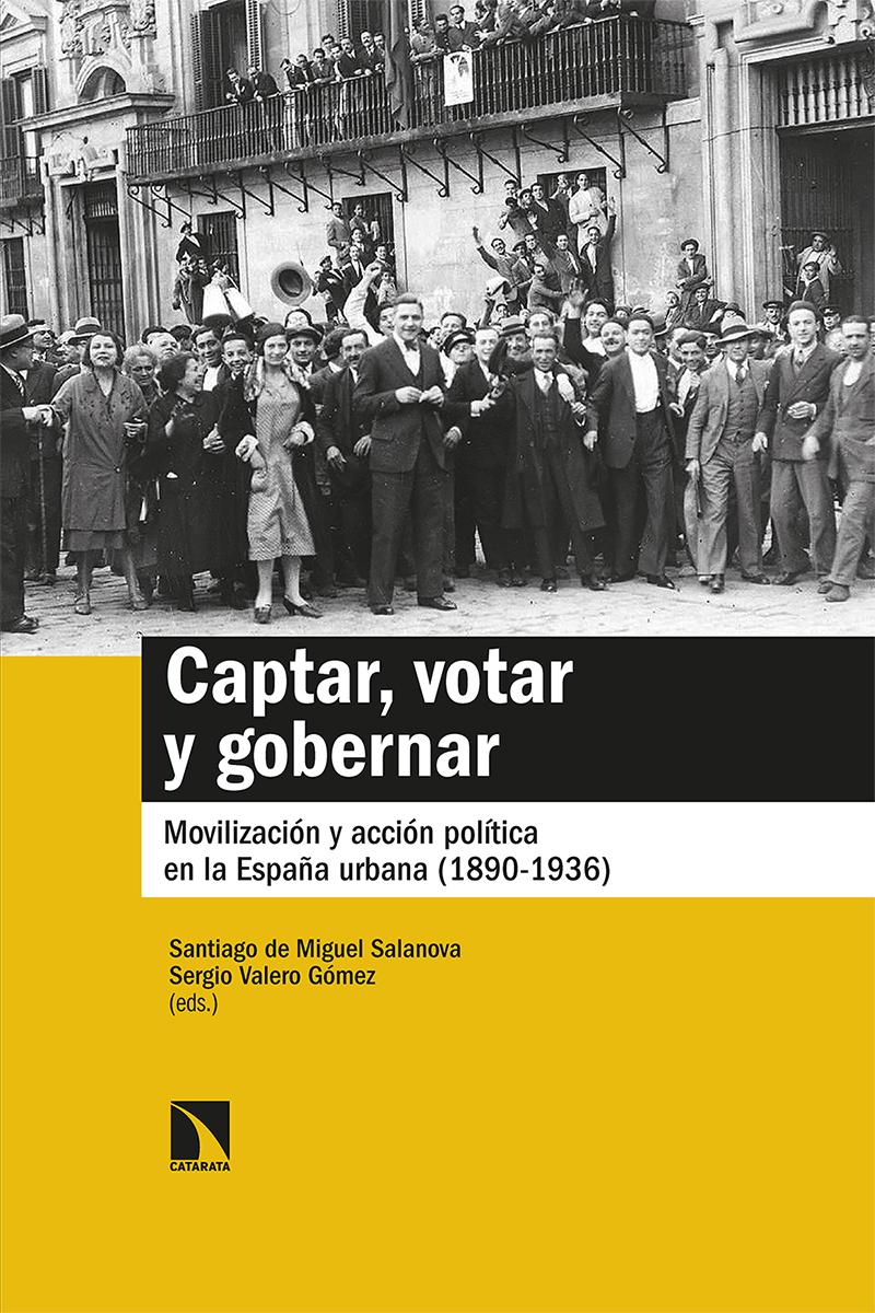 Captar, votar y gobernar: portada