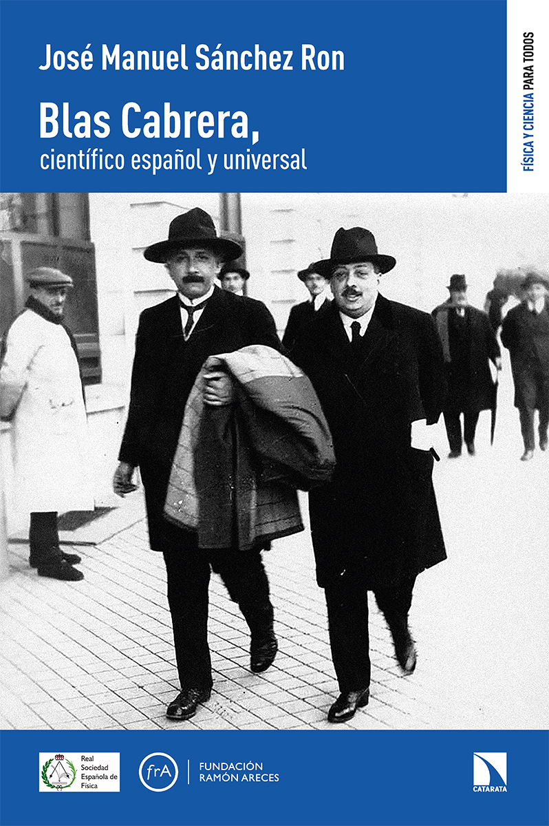Blas Cabrera, científico español y universal: portada
