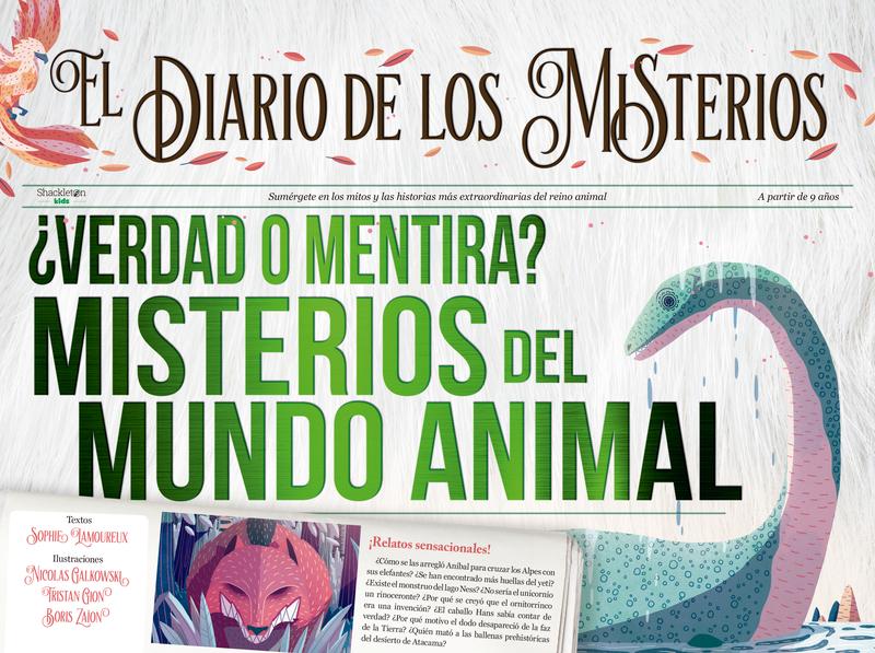 ¿Verdad o mentira? Misterios del mundo animal: portada
