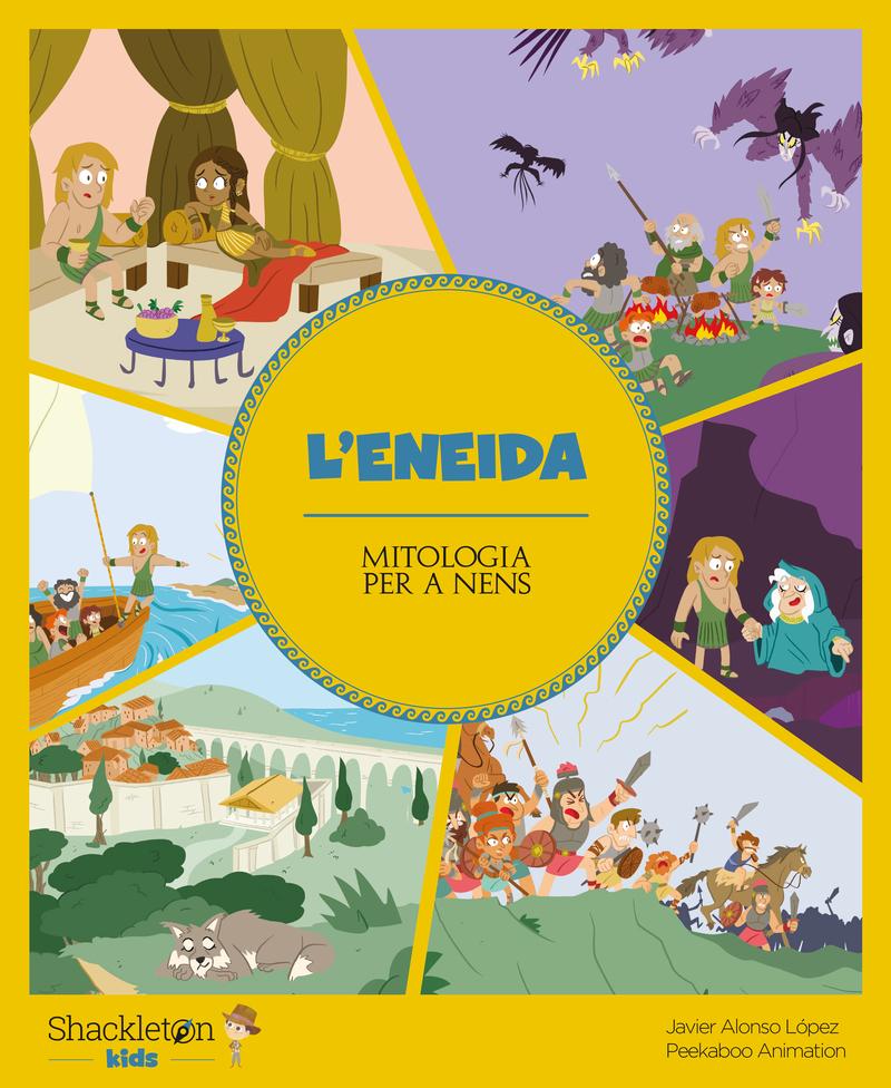 L'Eneida (versió CATALÀ): portada