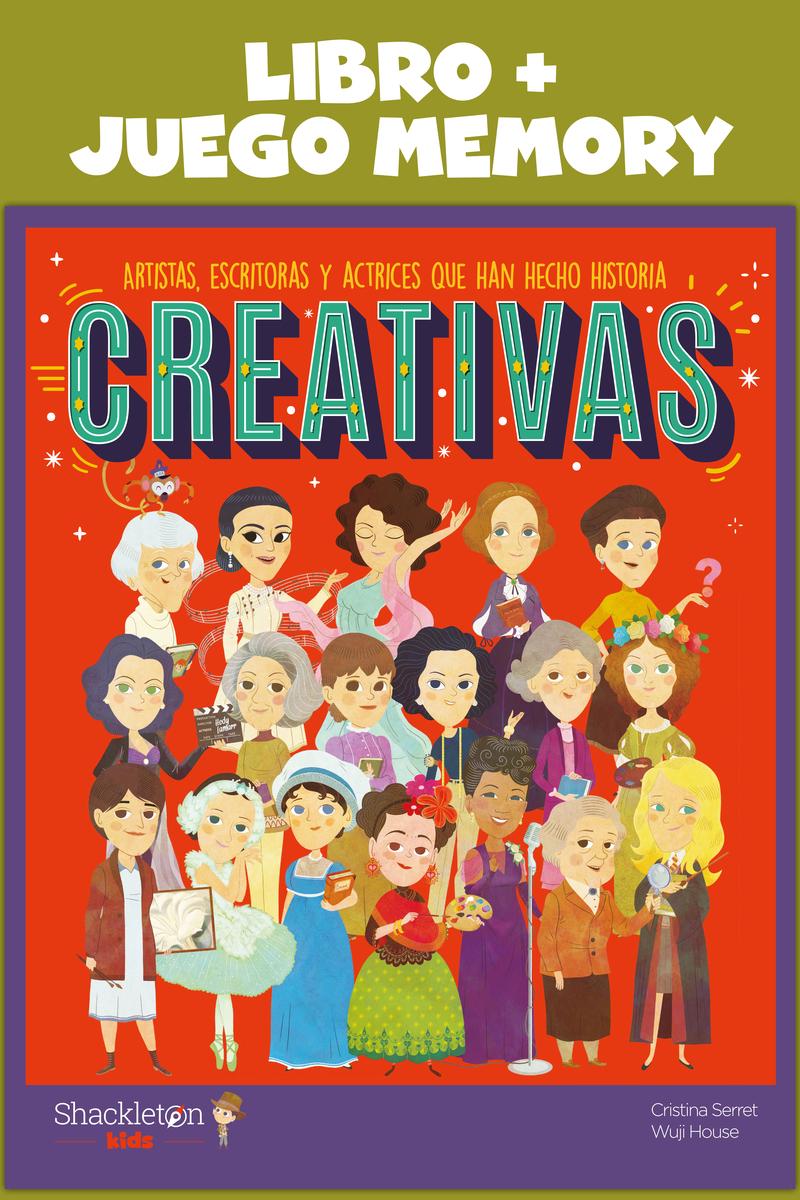 Creativas: Libro + Juego Memory: portada