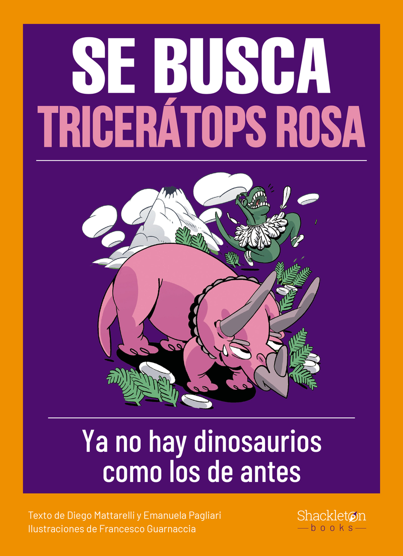 Se busca tricerátops rosa: portada