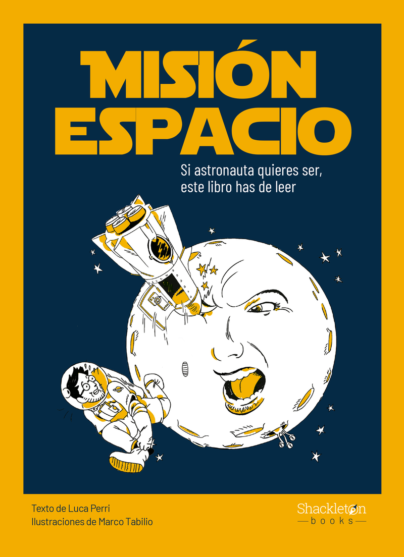 Misión espacio: portada