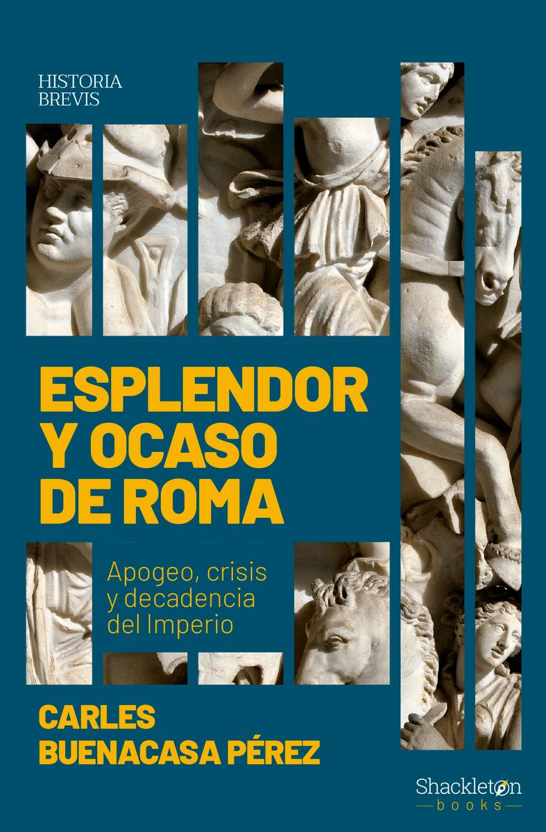 Esplendor y ocaso de Roma: portada