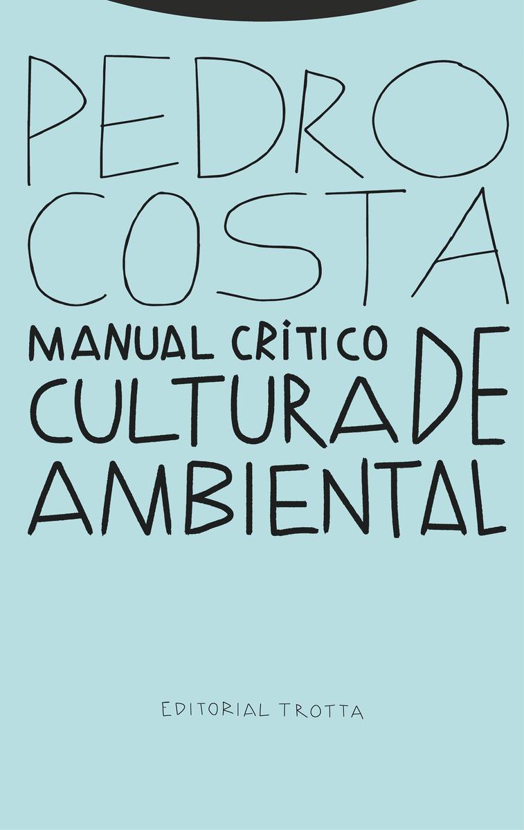 Manual crítico de cultura ambiental: portada