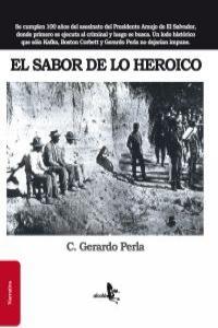 EL SABOR DE LO HEROICO: portada