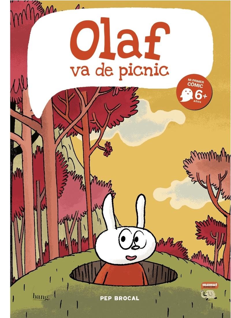 OLAF VA DE PICNIC: portada