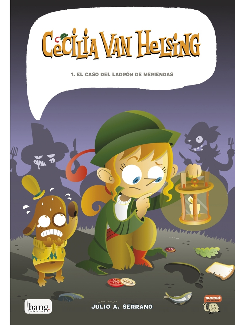 CECILIA VAN HELSING: portada