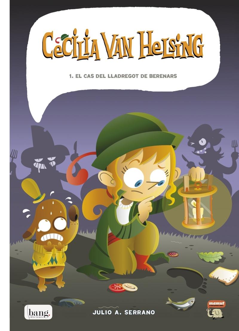 CECíLIA VAN HELSING: portada