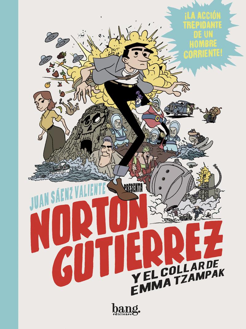 NORTON GUTIÉRREZ Y EL COLLAR DE EMMA TZAMPAK: portada