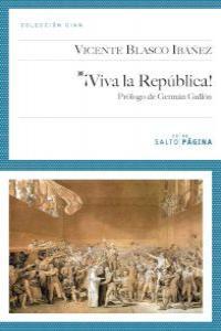 ¡VIVA LA REPúBLICA!: portada
