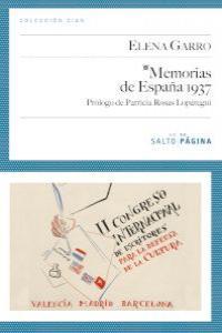MEMORIAS DE ESPA�A 1937: portada