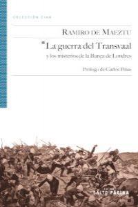 LA GUERRA DEL TRANSVAAL: portada