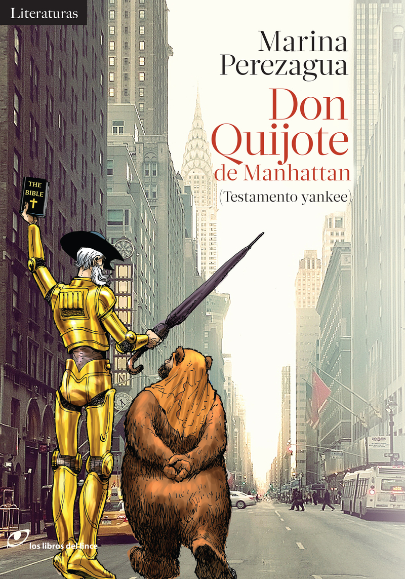 Don Quijote de Manhattan: portada