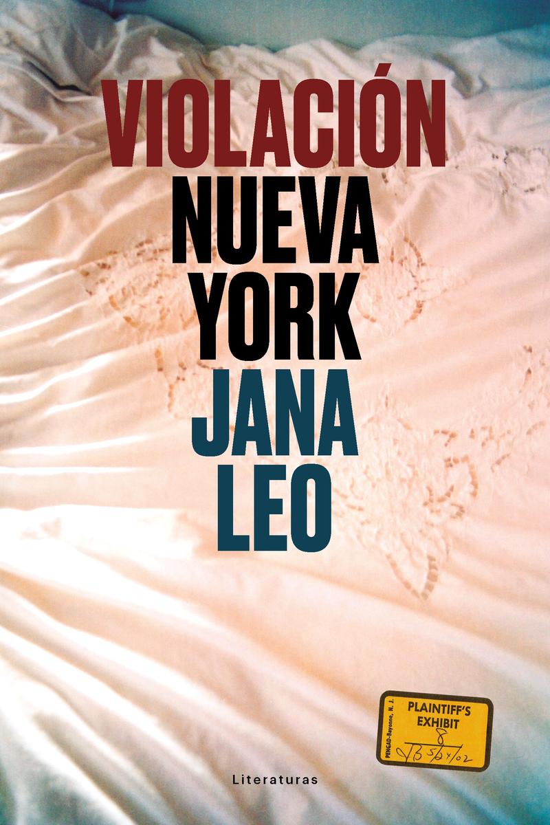 Violación Nueva York: portada