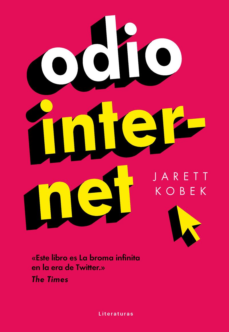 Odio Internet: portada
