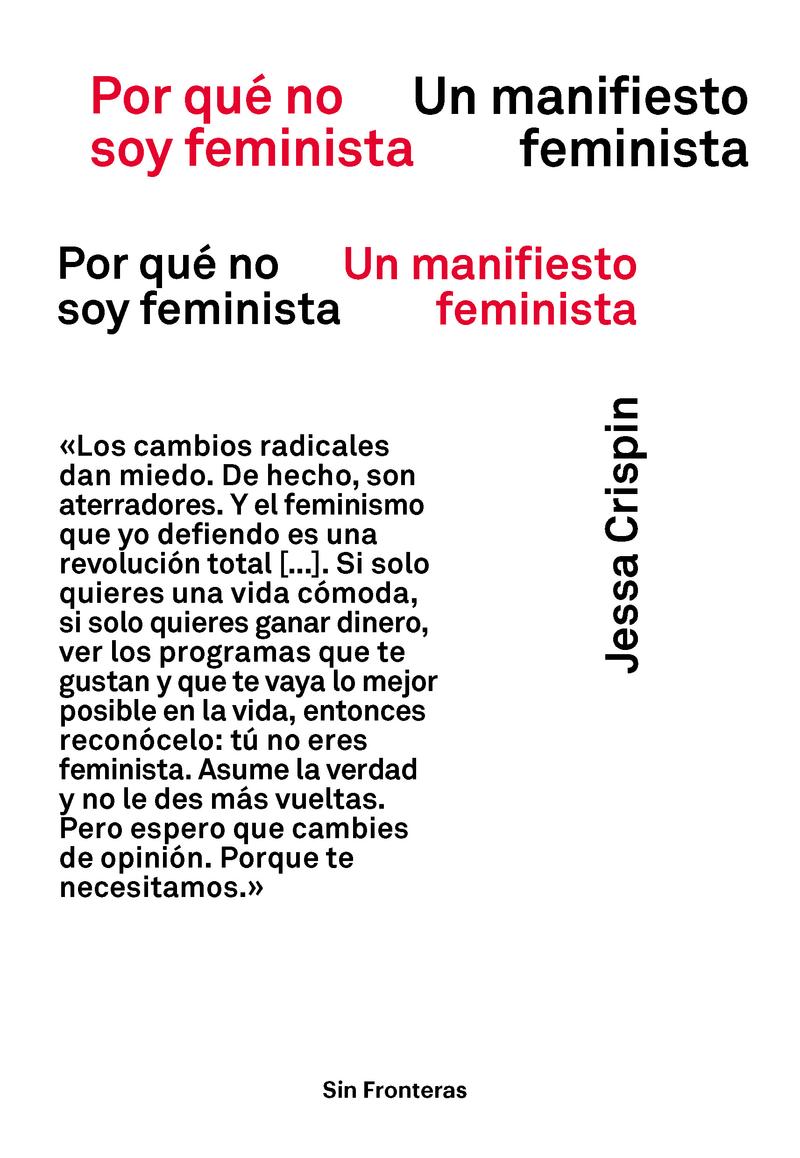 Por qué no soy feminista: portada