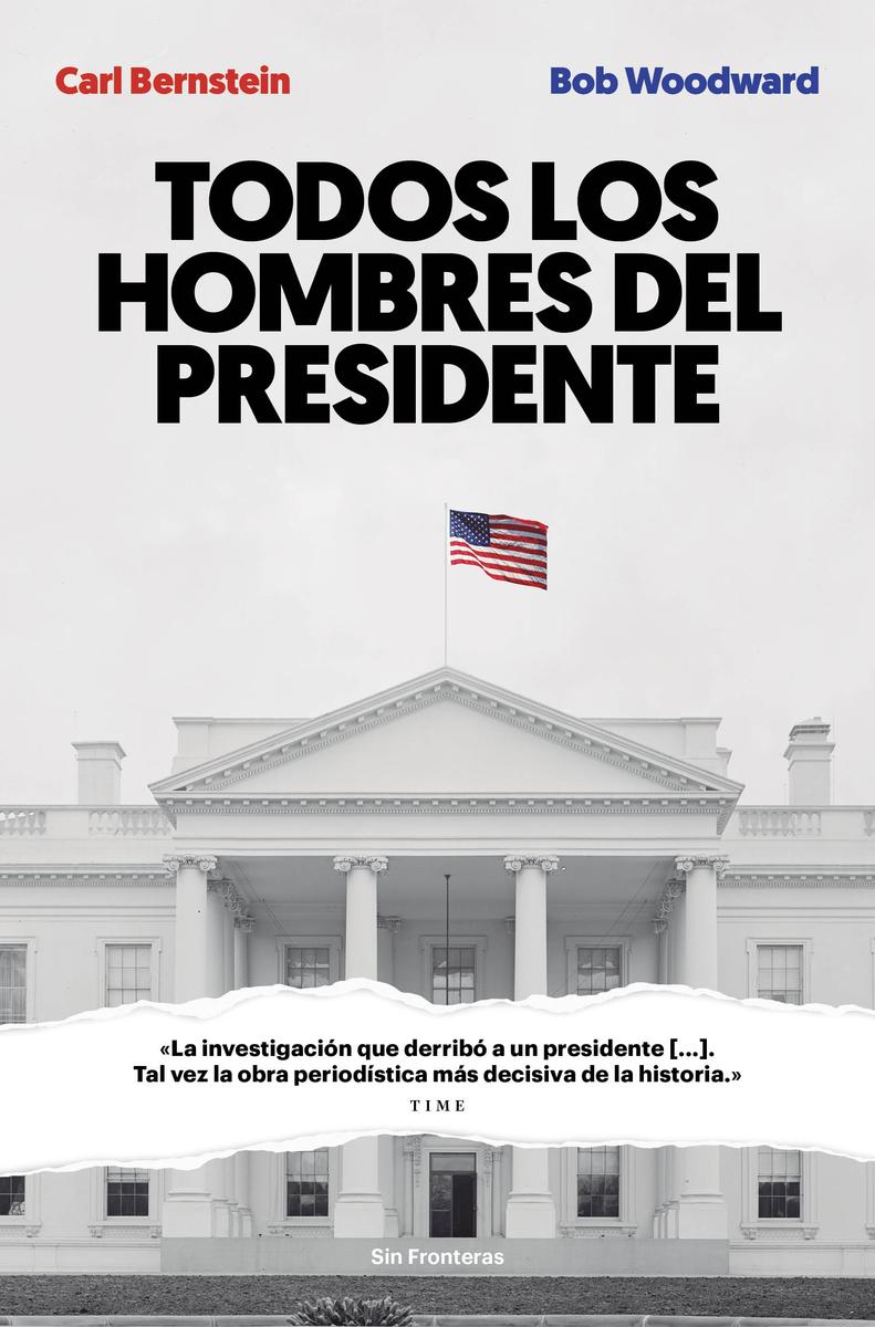 Todos los hombres del presidente: portada