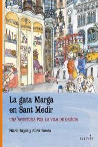 LA GATA MARGA EN SANT MEDIR: portada
