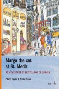 MARGA THE CAT AT ST. MEDIR: portada