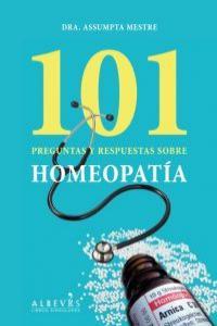 101 Preguntas y respuestas sobre Homeopatía: portada