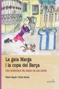 La Gata Marga i la copa del Bar�a: portada