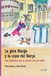 La Gata Marga y la copa del Barça: portada