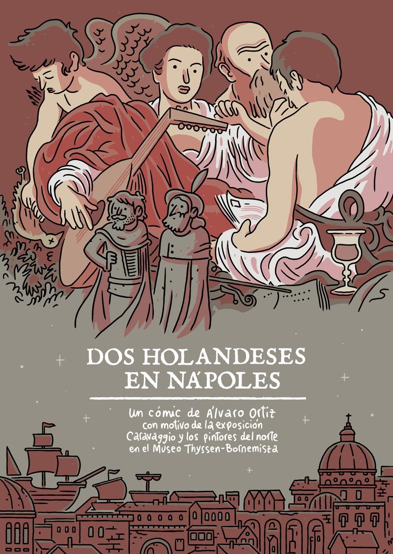 DOS HOLANDESES EN NÁPOLES: portada