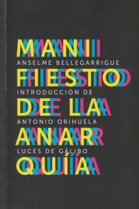 MANIFIESTO DE LA ANARQUIA: portada