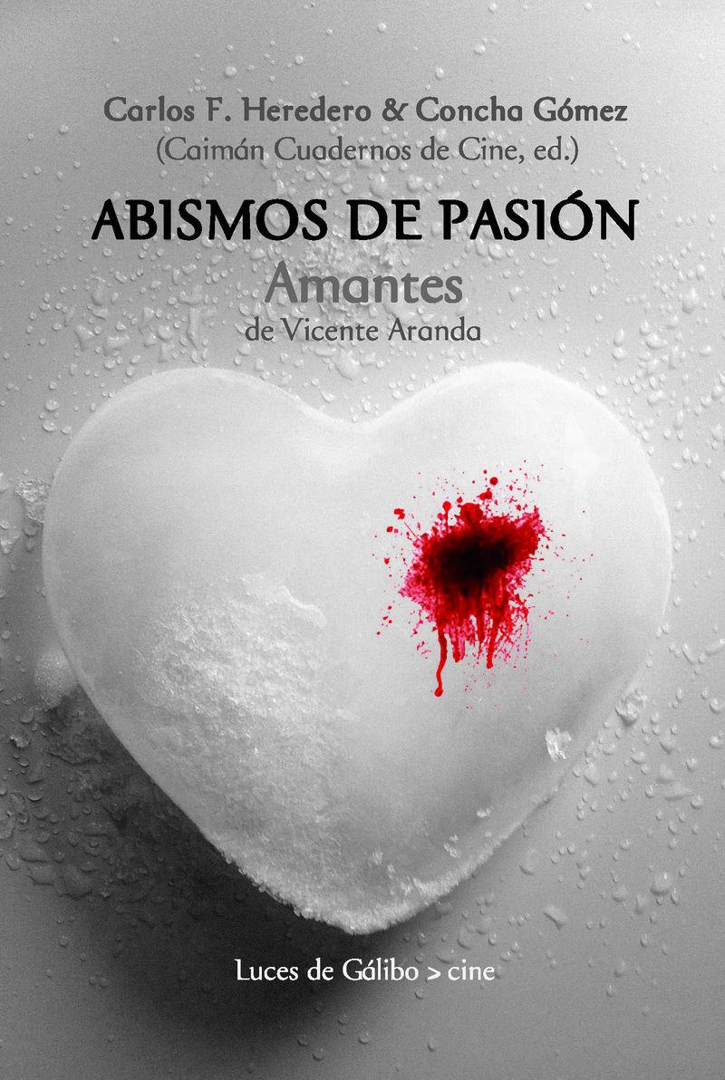 Abismos de pasión: portada