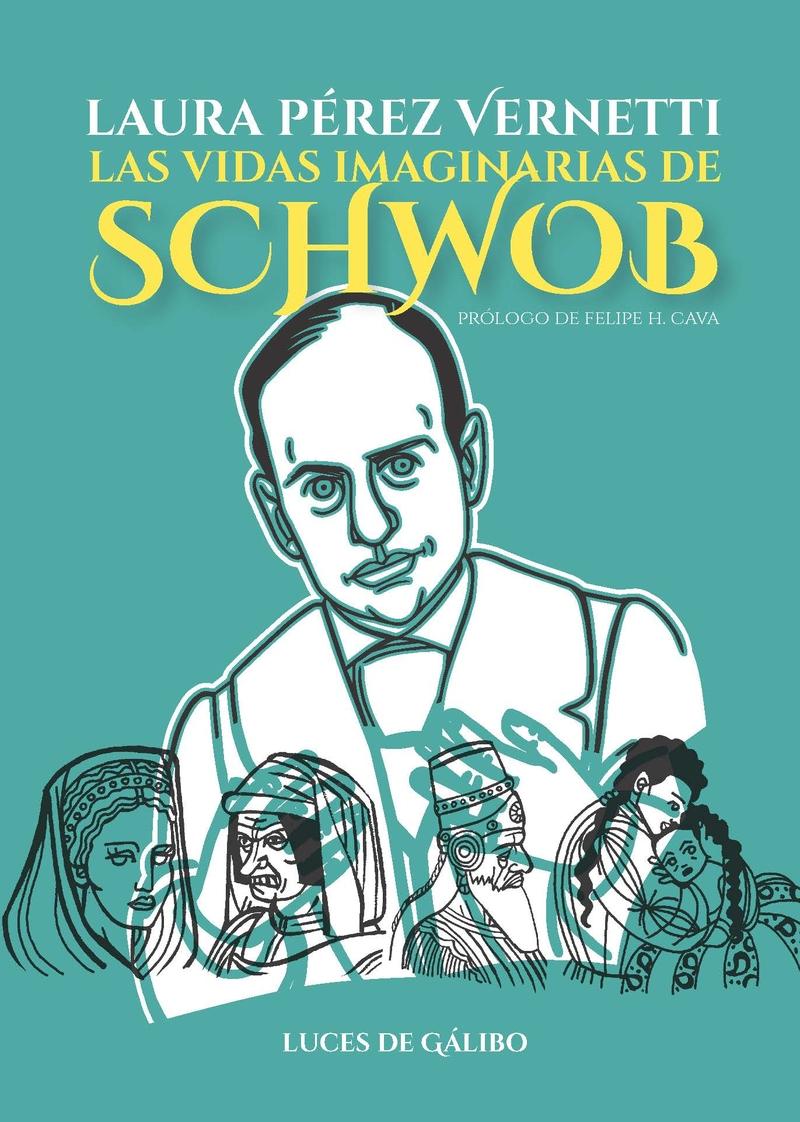 Las vidas imaginarias de Schwob: portada