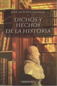 Dichos y hechos de la historia: portada