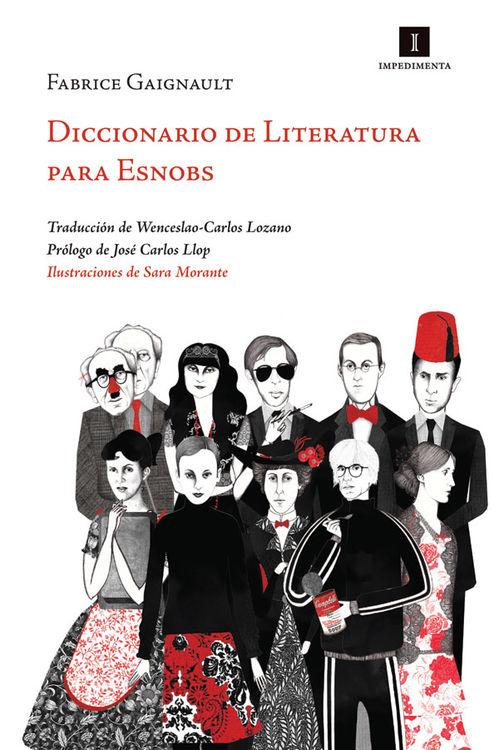 DICCIONARIO DE LITERATURA PARA ESNOBS: portada