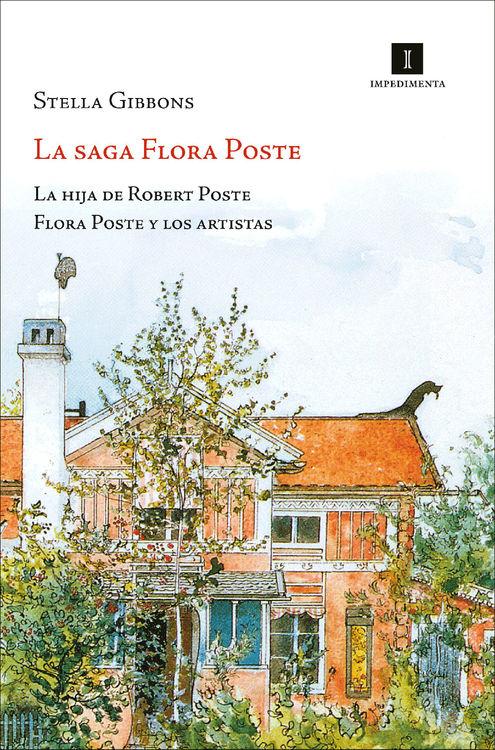 LA SAGA FLORA POSTE: portada
