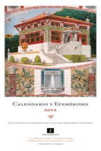 Calendario y Efemérides: portada