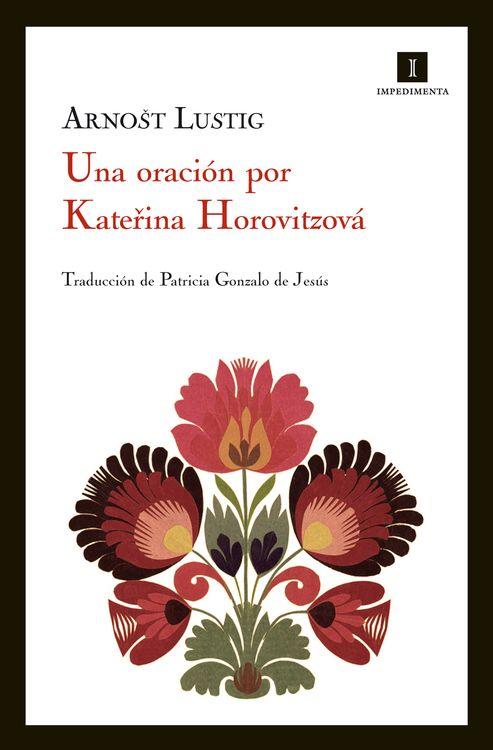 UNA ORACION POR KATERINA HOROVITZOVA: portada