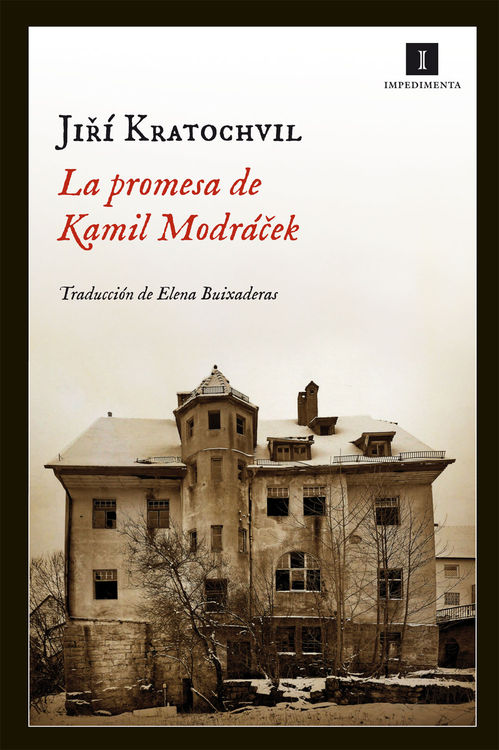 La promesa de Kamil Modr�cek: portada